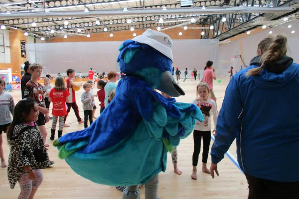 Bluey the Duck having a boogie